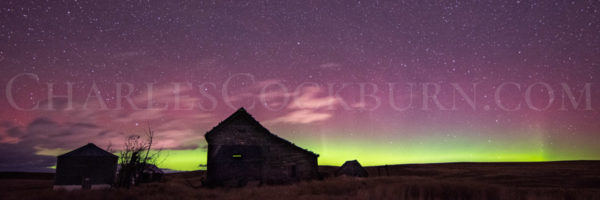Aurora Over Waterville at CharlesCockburn.com