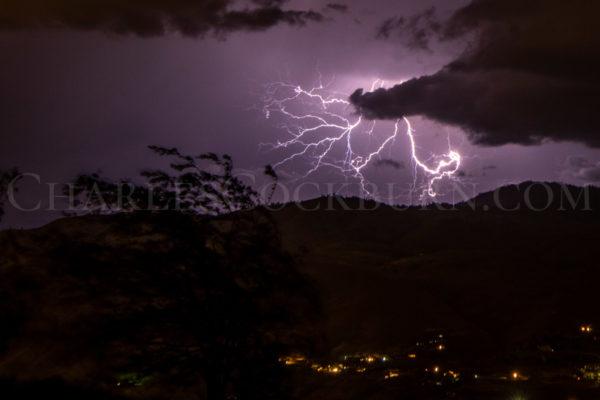 Lightning Over Wenatchee at CharlesCockburn.com