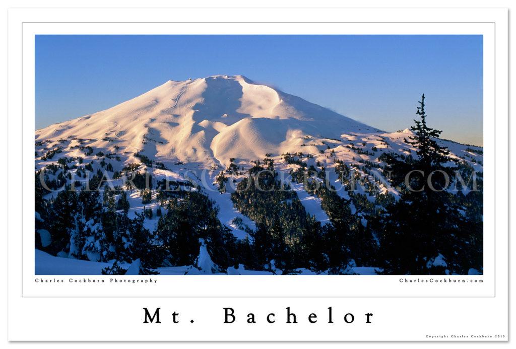 Mt. Bachelor Poster at CharlesCockburn.com