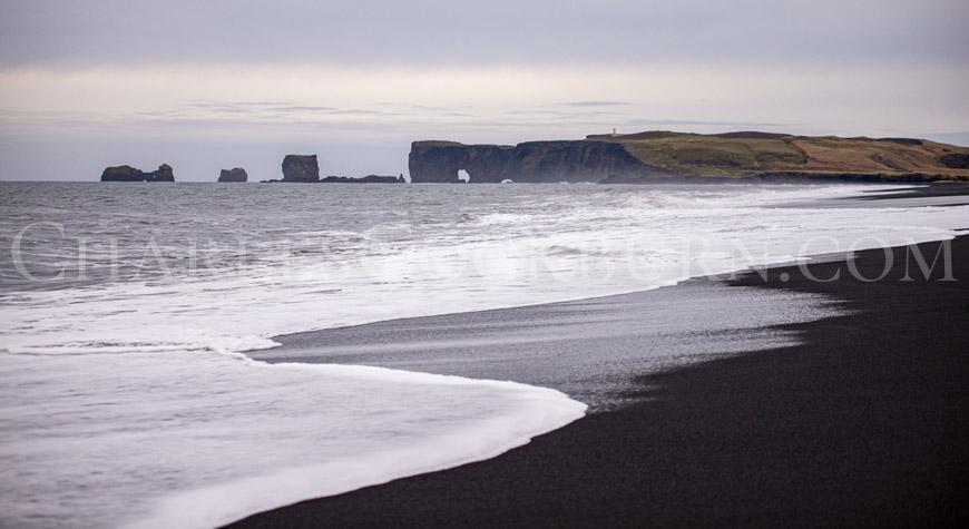 Dyrhólaey Lighthouse Iceland at CharlesCockburn.com
