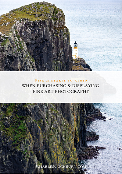 5 mistakes to avoid when purchasing and displaying fine art photography at CharlesCockburn.com