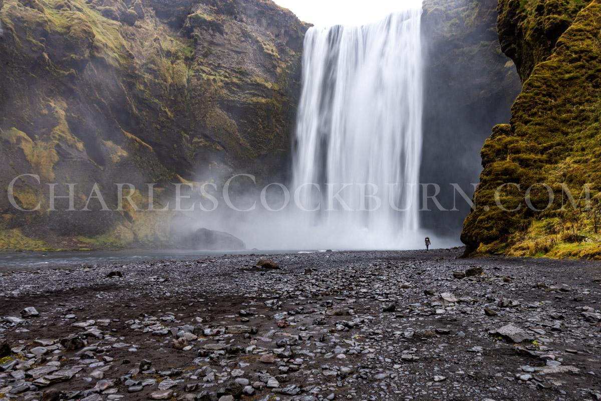 Skógafoss Waterfall at CharlesCockburn.com