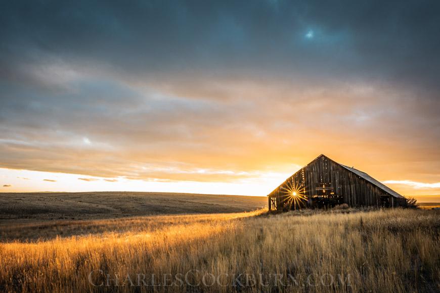 Prairie Sunset near Waterville at CharlesCockburn.com